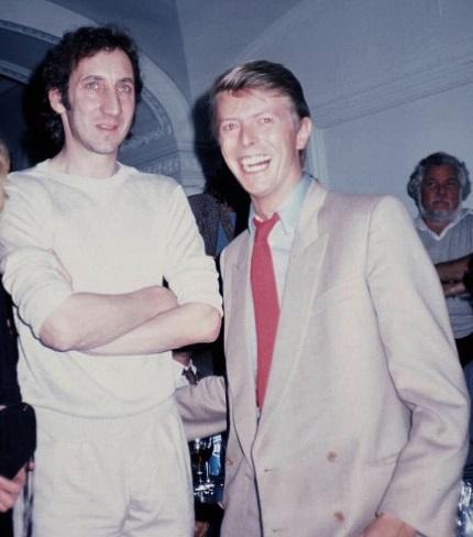 Pete Townshend posts heartfelt tribute to David Bowie