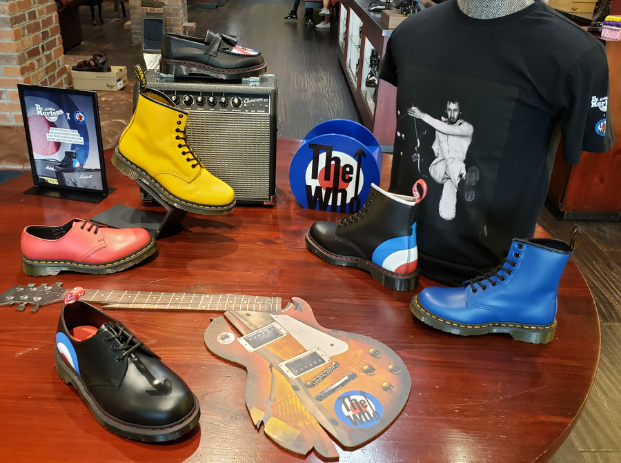 Dr Martens store display